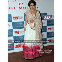 Sofi Tussar Queen Net Bollywood Dress
