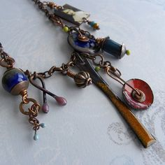 Barbara Lewis - she is amazing with enamels!