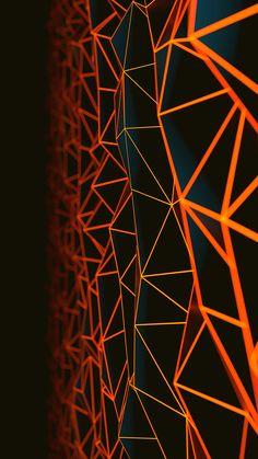 Generative Art Abstract Wallpaper 1080X1920 Iphone Wallpaper Orange, Abstract Iphone Wallpaper, Graphic Wallpaper, Dark Wallpaper, Galaxy Wallpaper, Wallpaper Backgrounds, Mobile Wallpaper, Iphone Wallpapers, Homescreen Wallpaper