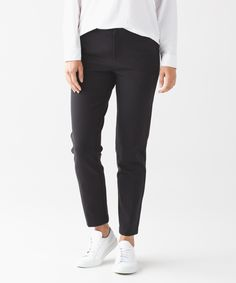These trousers are technical enough for a quick hike and chic enough to wear to dinner with friends.