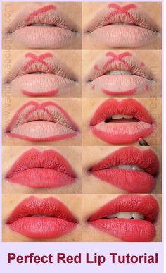 How To Apply Red Lipstick – Tutorial