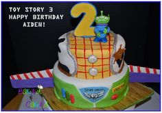 Cute Toy Story Cake