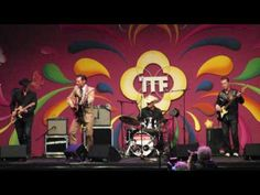 """Tong Tong Fair May 28 2016, James Intveld performing """"Let's get started""""..."""