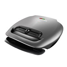 George Foreman GR2081HM 5-Serving Classic Plate Grill with Variable Temperature, Platinum ** Click image for more details.