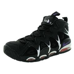 Nike Men's Air Max Cb34 /Club Purple/Tm Orange/ Basketball Shoe