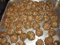 Meatball recipe to try next week. Though I'm going to use a blend of beef & pork.