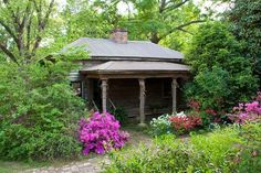 Guest house at this c. 1840 Greek Revival – Marion, AL home.