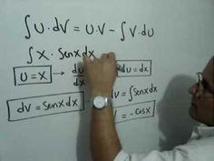 Integral resuelta por el Método de Partes: Julio Rios explica la solución de una integral usando el Método de Integración por Partes