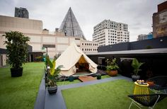 11 Things You Don't Know About Melbourne's Rooftop Camping Hotel   Melbourne   The Urban List