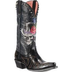 JUST GOT EM!!!! SO COMFY!!! i love ariat boots!!!The Mi Soule Loco Gypsy Soule boot by ARIAT w/ screen prints, ornate embroidery and bright Swarovski crystals.