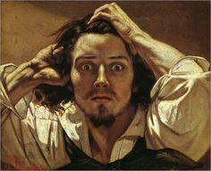 Selbstporträt Der Verzweifelte Bilder: Poster von Gustave Courbet bei Posterlounge.de