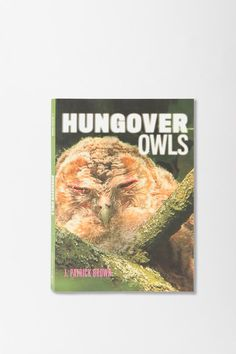 Hungover Owls. Dangerous things happen when internet memes become coffee table books :) $10