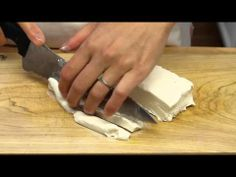 How To Slice Cream Cheese For Sushi Rolls