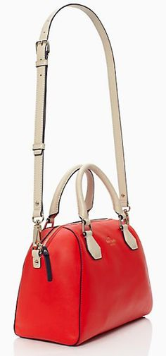 cherry #red leather satchel http://rstyle.me/n/j29e9r9te