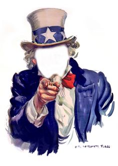 Uncle Sam I Want You - Poster, Faceless | Flickr - Photo Sharing!