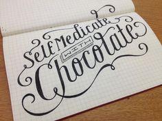 6 Awesome Hand Lettering Tutorials Mange fine typer og hjelp til å begynne med kalligrafi