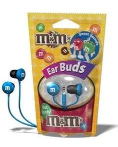 M&M; earphones :D