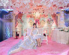 18th Debut Theme, Debut Themes, Debut Ideas, Debut Gowns Debutante, Pre Debut Photoshoot, Debut Planning, Debut Party, Wedding Backdrop Design, Princess Drawings