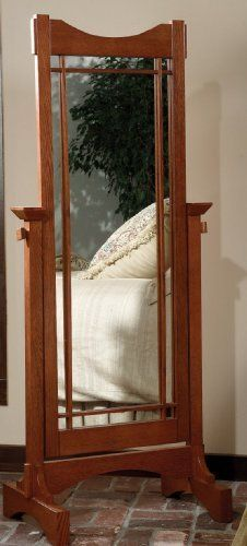 Powell 993-230 Mission Oak Cheval Floor Mirror by Powell. Save 28 Off!. $170.00. The Mission Oak Cheval is perfect for the bedroom or bath. Solid oak and oak veneer frame and solid oak mission styling Large mirror adjusts to the ideal dressing angle for any individual Some assembly required