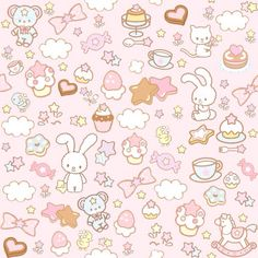 This was my first wallpaper for my iPad mini. Look how kawaii it is~.
