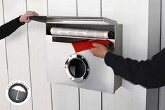 Radius Design Wall-Mailbox Letterman XXL living at decoration online shop Mailbox Accessories, Home Accessories, Modern Entry, All Modern, Mailbox Stand, Mail Room, Modern Mailbox, Mounted Mailbox, Shops