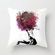 Digital Tree of Love Throw Pillow by Amy J Smith Photography - $20.00
