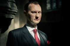 "It was written by Mark Gatiss, who also plays Sherlock's brother Mycroft. | The 30 Pictures From ""Sherlock"" You've Waited Nearly Two Years To See"