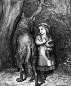 Gustave Dore: Little Red Riding Hood