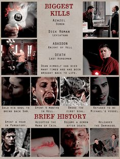 Dean Winchester's journey
