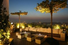 Rooftop Terrace Bar at Mikla Restaurant