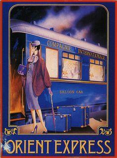 The Orient Express http://www.flickr.com/photos/jassy-50/4810318874/