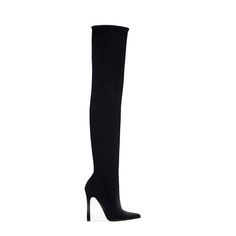 12 Over-the-Knee Boots to Get You Excited for Fall - Zara boots from Zara Boots, Dream Shoes, Shoe Closet, Fall Wardrobe, Shoe Box, Beautiful Shoes, Over The Knee Boots, Designer Shoes, Heeled Boots