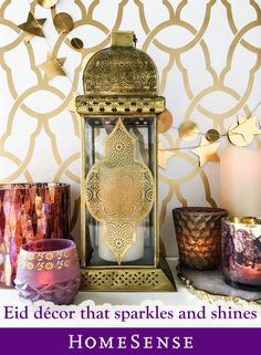 From #MyHomeSense lanterns, candles, decorative items and more, find everything you need to to light up your décor for Eid at a HomeSense near you! Find your nearest store on our website now.