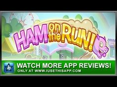 Ham On The Run - iPhone App - Game iPhone App - Apps #iphone #apps #appreviews #IUTA