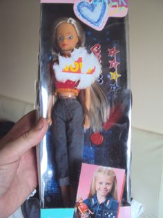 """Steffi love doll """"Stick on"""" fashion doll by Simba Toys mint in box. #M121961 3.5+3.8"""