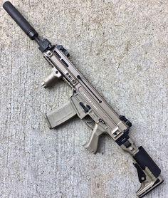 Military Weapons, Weapons Guns, Guns And Ammo, Assault Weapon, Assault Rifle, Cz 805 Bren, Zombie Survival Gear, Modern Warfare, Tactical Gear