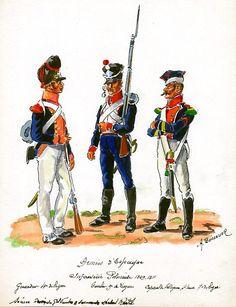 FRANCE - Fanteria Polacca 4th Line Infantry, Grenadier, 9th Line Infantry…