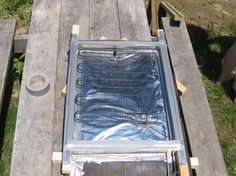 Welcome to The Sietch - Projects Build Your Own Solar Thermal Panel