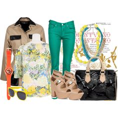 Be Basic. Be Bright, created by #lazymazei on #polyvore. #fashion #style #Erdem #Balenciaga