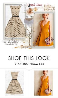 """""""21. Simple-Dress"""" by hetkateta ❤ liked on Polyvore featuring Nivea"""