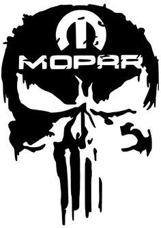 (Sponsored eBay) Mopar Decal Vinyl Car Truck Sticker Chrysler Dodge Jeep Ram 1500 2500 3500 Truck Stickers, Truck Decals, Vinyl Decals, Mopar, Skull Stencil, Skull Art, Dodge Charger, Dodge Ram 1500 Hemi, Graffiti Lettering Fonts