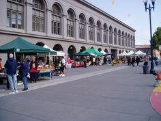 Ferry Plaza Farmers' Market, San Francisco. Favorite Place to spend a Saturday morning.