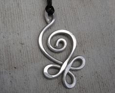 Big Celtic Pendant  Budding Spiral Light by nicholasandfelice, $12.00