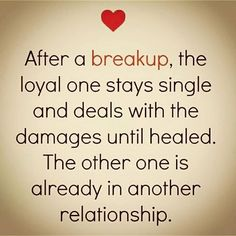 After A Breakup More