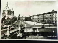 Schlossplatz, Berliner Dom, Altes Stadtschloss German Architecture, Kaiser Wilhelm, Akg, Kirchen, Luxury Real Estate, Historical Photos, Wwii, Paris Skyline, Louvre