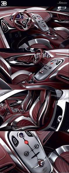 BUGATTI   GANGLOFF   CONCEPT CAR , INVISIUM by Paweł Czyżewski, via Behance