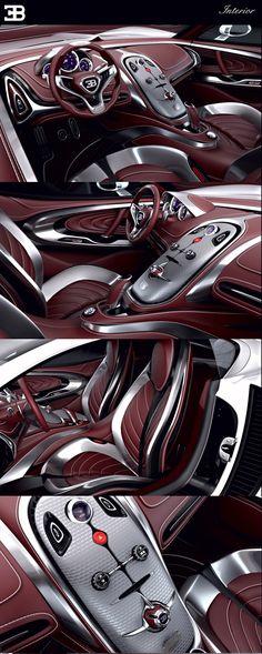 Bugatti Gangloff Concept by Paweł Czyżewski Bmw, Ford Gt, Bugatti Concept, Jaguar, Automobile, Maserati, Ferrari F40, Lamborghini Gallardo, Car Interior Design