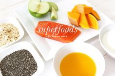 7 Superfoods for Senior Dogs | 7 of our favourite superfoods that have excellent health properties, especially for senior dogs (and people!), but can also be enjoyed at any age AND how to best serve them for the ultimate health benefits! | www.prettyfluffy.com