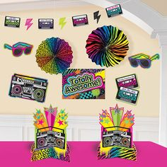 Let out your wild child! The Totally 80s Room Decorating kit is mega fun! This…
