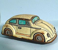 Miniature Old Windup Car, Japan
